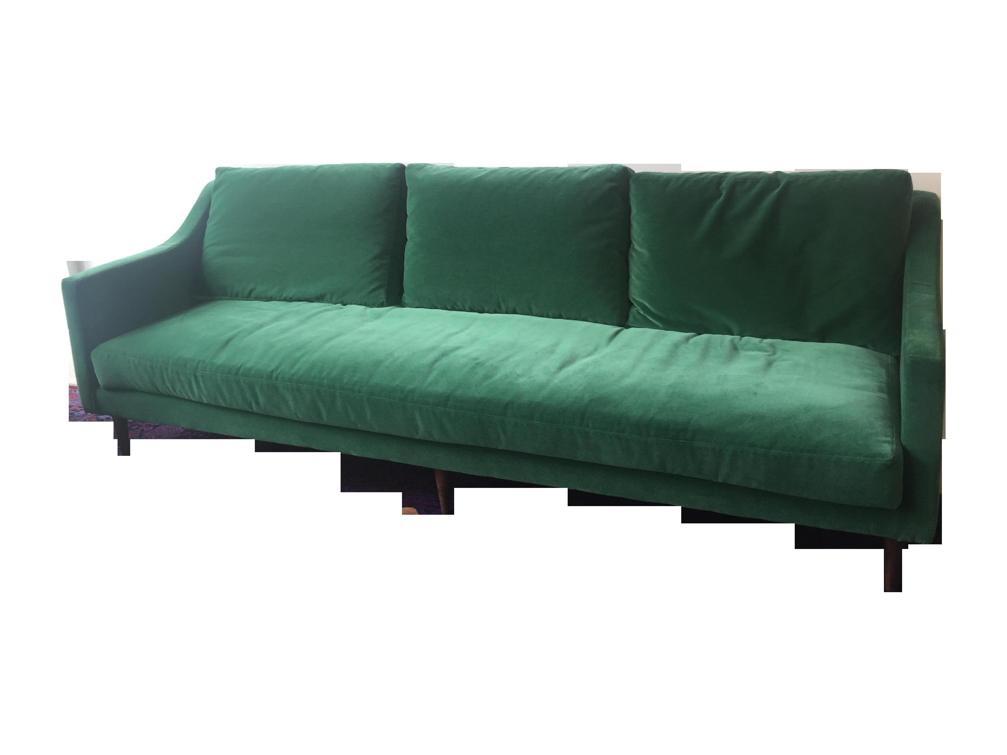 Naples Mid Century Modern Green Velvet Sofa Chairish : c1c82b6e 41b1 4072 87ac 3d17d022ea6faspectfitampwidth640ampheight640 from www.chairish.com size 640 x 640 jpeg 22kB