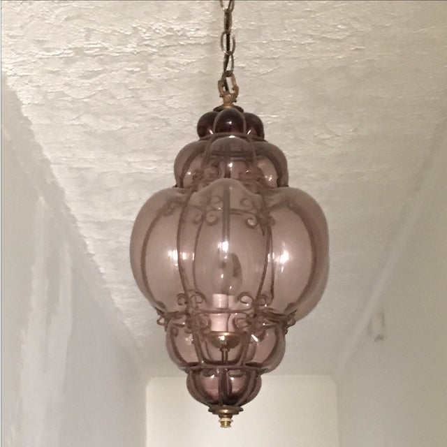Image of Moroccan Glass Chandelier