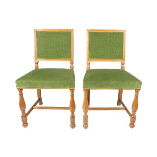 Swedish Hall Chairs - A Pair