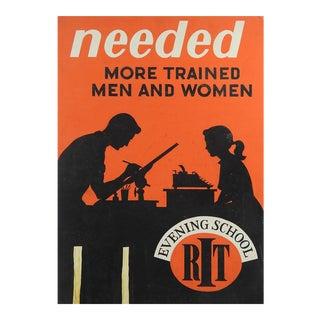 1950's Poster Technical School