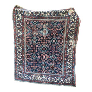 Antique Persian Malayer Square Rug - 5′3″ × 6′6″