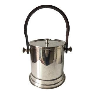 Vintage Silver Ice Bucket-Handle