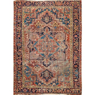 Apadana Persian Heriz Rug - 7' X 9'8""