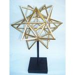 Image of Geometric 3-D Star Sculpture