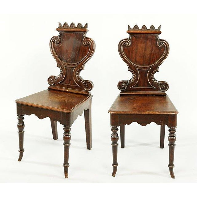 Image of French Continental Chairs - A Pair