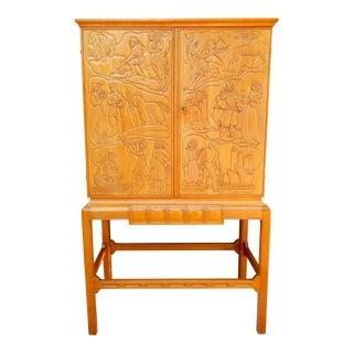 """""""Tidens Cavalcade"""", Bar Cabinet by Eugene Högland, circa 1930"""