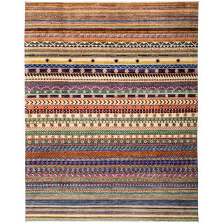 "Lori, Hand Knotted Area Rug - 8'3"" X 10'2"""