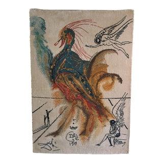 Salvador Dali Textile Wall Hanging