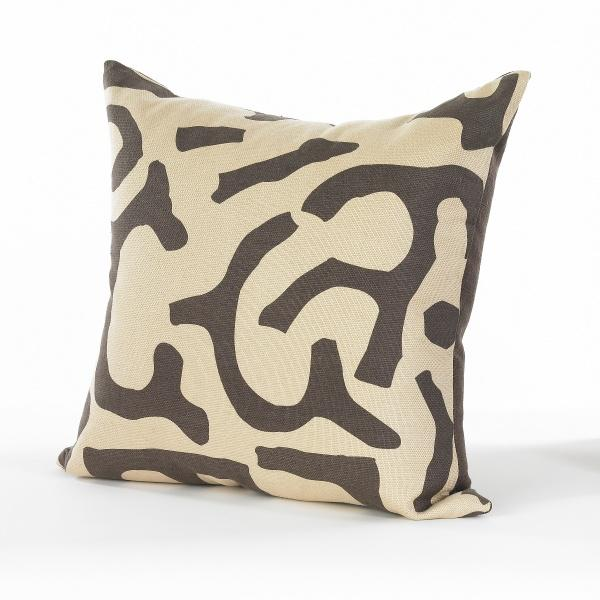 Image of Chocolate and Wheat Pillow