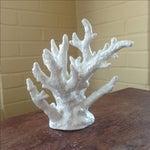 Image of Vintage White Porcelain Coral Accent Piece