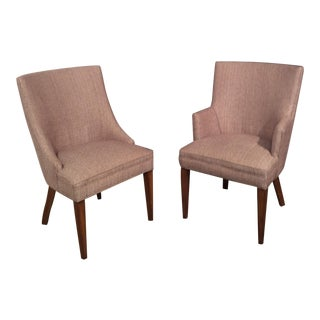 Henredon His & Hers Chairs - A Pair