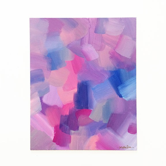 Image of Dashing Original Acrylic Abstract Painting