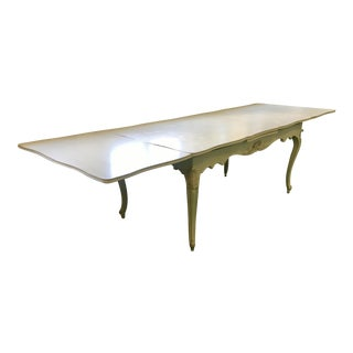 French Provincial White Dinning Table