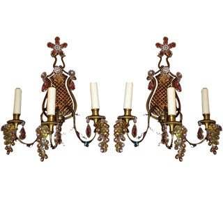 Antique Maison Jansen Sconces