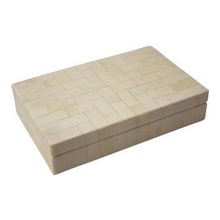 Tessellated Bone Trinket Box