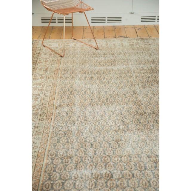 "Vintage Distressed Oushak Carpet - 8'11"" x 12'6"" - Image 8 of 10"
