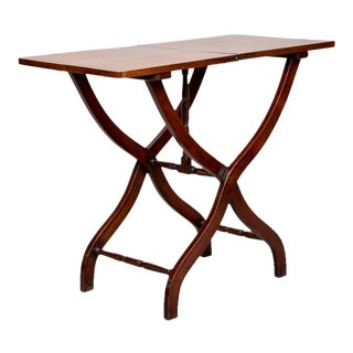 19th Century English Mahogany Folding Table