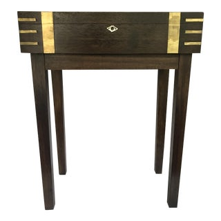 Petite Storage Side Table