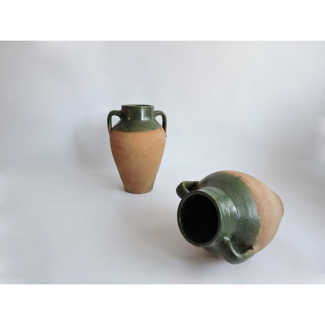 Large Antique Turkish Olive Jar. Pottery - Image 3 of 5