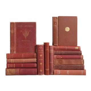 Vintage Decorative Literary Classics - Set of 15