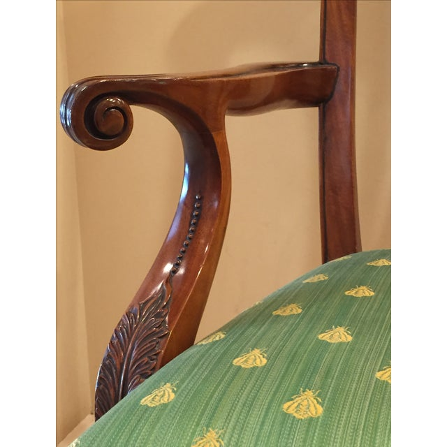 Chippendale Side Armchairs- A Pair - Image 5 of 7