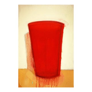 Red Cup Oil on Canvas