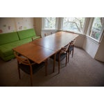 Image of Niels Otto Moller Teak Dining Table and 6 Chairs
