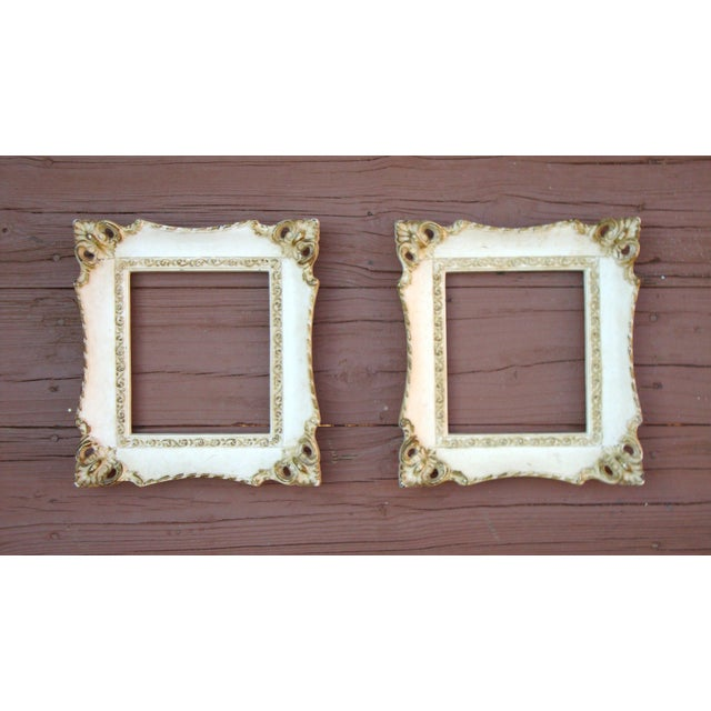 Image of Vintage French Rococo Gilt Picture Frames - 2