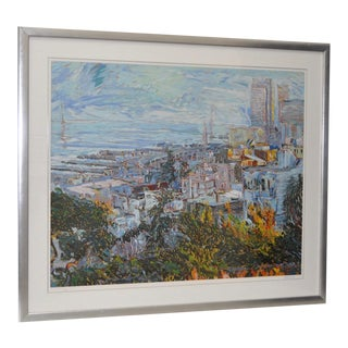 San Francisco from Telegraph Hill Serigraph by Marco Sassone