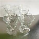 Image of Laurel Wreath Champagne Glasses - Set of 4