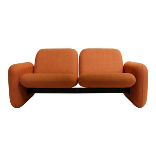 "Ray Wilkes for Herman Miller ""Chicklet"" Loveseat Sofa"
