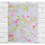 """Image of Abstract Painting """"Lemon Seashell"""" by Susie Kate"""