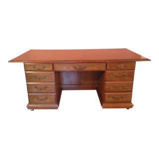 Solid Wood Executive Conference Desk