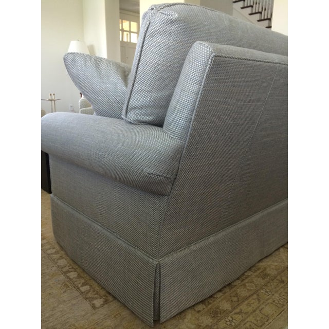 Baker Furniture Custom Sofa With Bill Sofield Fabric - Image 5 of 8
