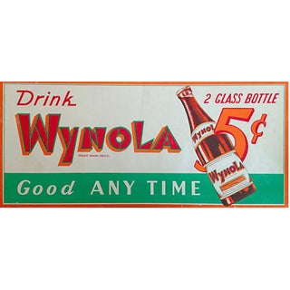 1940s Wynola Soda Advertisement