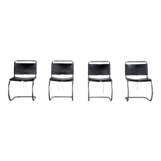 Mies Van Der Rohe Mr10 Chairs - Set of 4