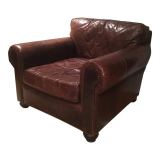 Restoration Hardware Lancaster Leather Chair