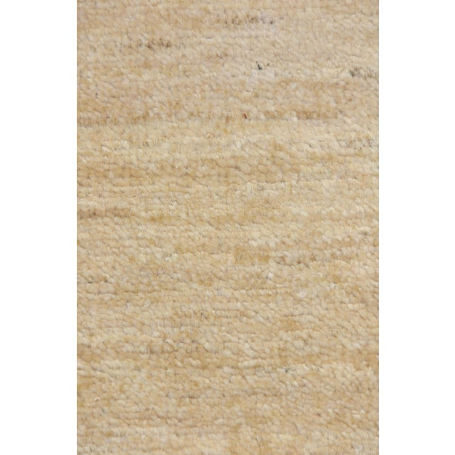 """Contemporary Hand Knotted Area Rug - 4'1"""" X 6'4"""" - Image 3 of 3"""