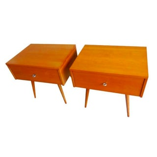 Paul McCobb Planner Group Bedside Tables - Pair