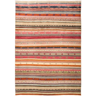 """Lori, Hand Knotted Area Rug - 6'2"""" X 8'7"""""""