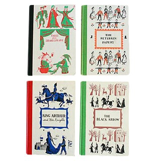 1950s Junior Classic Novels - Set of 4