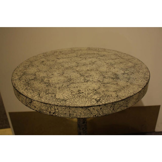 Image of Made Goods Side W/Black & White Crackle Top