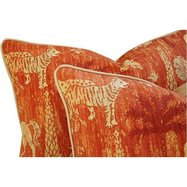 Custom Travers Old World Byzantine Pillows - Pair - Image 5 of 7