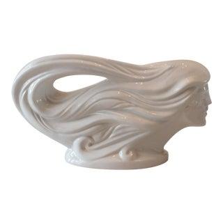 Art Deco Haeger Pottery Lady Sculpture