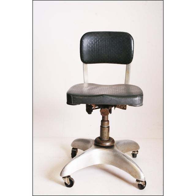 Vintage Industrial Swivel Office Chair by Goodform - Image 3 of 11