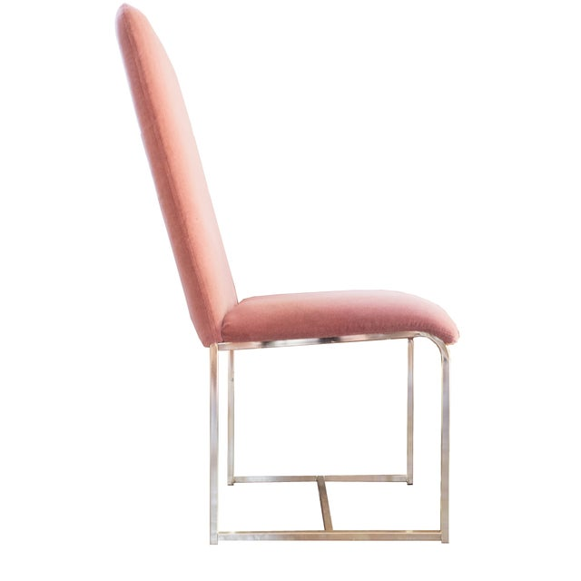 D.I.A. Brass Chairs by Milo Baughman - A Pair - Image 3 of 4