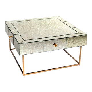 Dailyn Mirrored Coffee Table