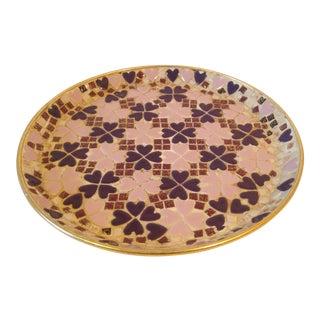 Mid-Century Mosaic Catchall or Bar Tray