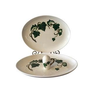 Metlox California Ivy Serving Dishes - 3