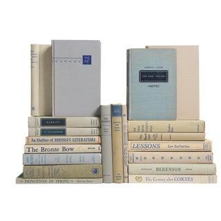 Cobalt & Smoke Mid-Century Book Mix - Set of 20